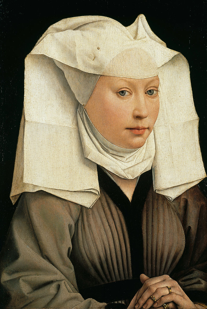 800px-Rogier_van_der_Weyden_-_Portrait_of_a_Woman_with_a_Winged_Bonnet_-_Google_Art_Project.jpg